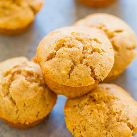 Vanilla Bean Mini Muffins