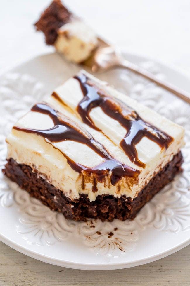 Fudge Ripple Brownies