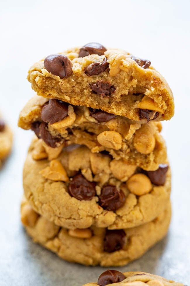 Chocolate Chip Peanut Butter Chip Cookies