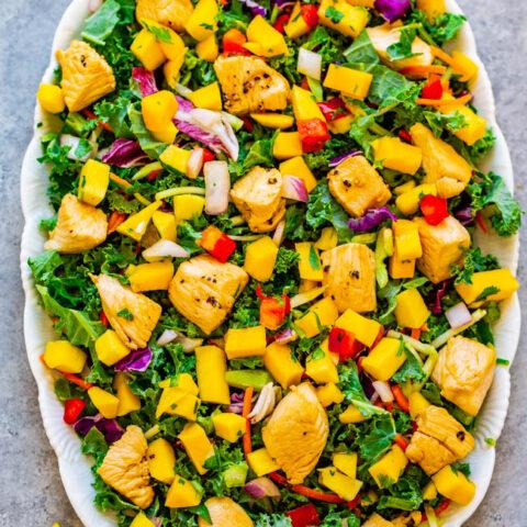15-Minute Teriyaki Chicken and Mango Salad