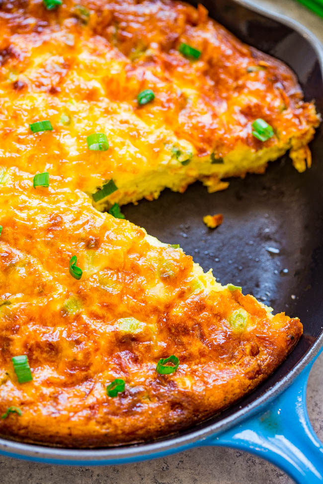 Cheesy Hash Brown Quiche Averie Cooks