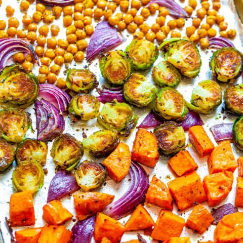 Harvest Roasted Vegetables and Chickpeas