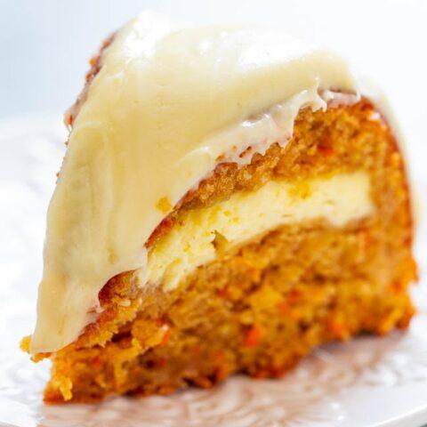 Carrot Apple Cream Cheese Cake