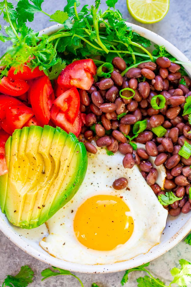 Healthy Mexican Breakfast Bowl Averie Cooks