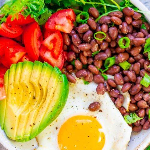 Healthy Mexican Breakfast Bowl