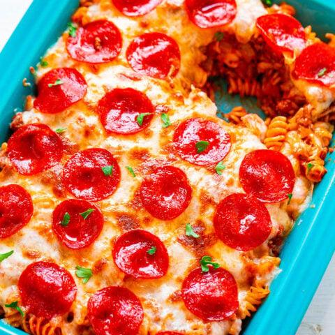 Pizza Pasta Casserole