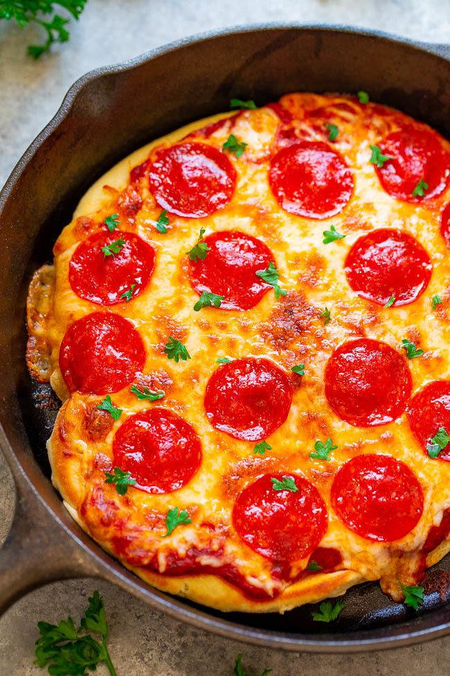 10-Minute Skillet Pizza