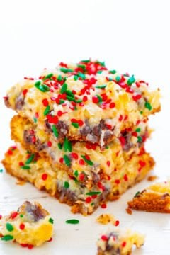 Holiday Seven Layer Bars