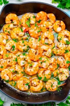 Easy 10-Minute Shrimp Scampi