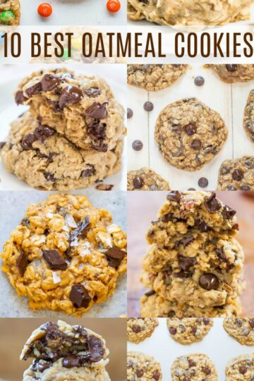 10 Best Oatmeal Cookie Recipes