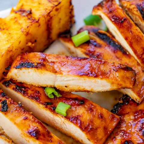 Hawaiian Grilled Chicken and Pineapple