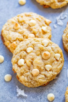 Coconut White Chocolate Cookies