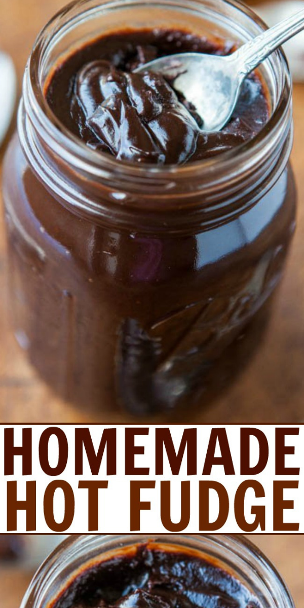 You'll never want store-bought again after making your own Homemade Hot Fudge in under 10 minutes. It's so easy that it's dangerous! The hot fudge sauce is thick, rich, dense, fudgy, very intensely chocolaty and not overly sweet. Serve over ice cream, brownies, cakes, cookies, waffles, pancakes, or just find a spoon and dig in.