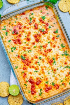 Mexican Baked Cheesy Street Corn Dip