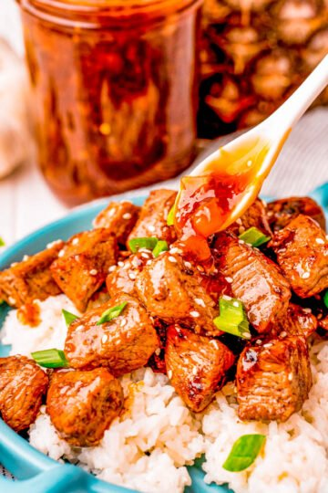 Teriyaki Steak Tips