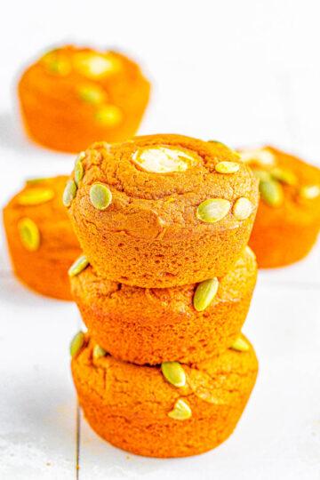 Starbucks Copycat Pumpkin Cream Cheese Muffins